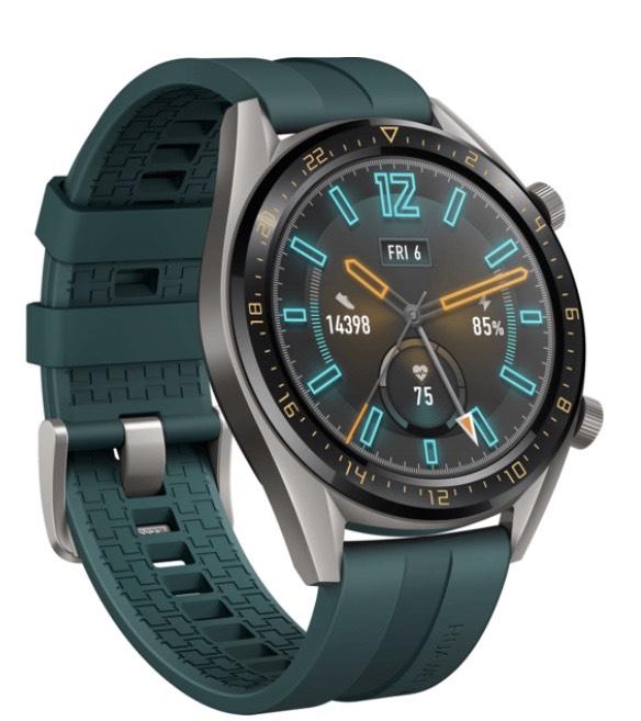 Montre connectée Huawei Watch GT Active - Vert Foncé