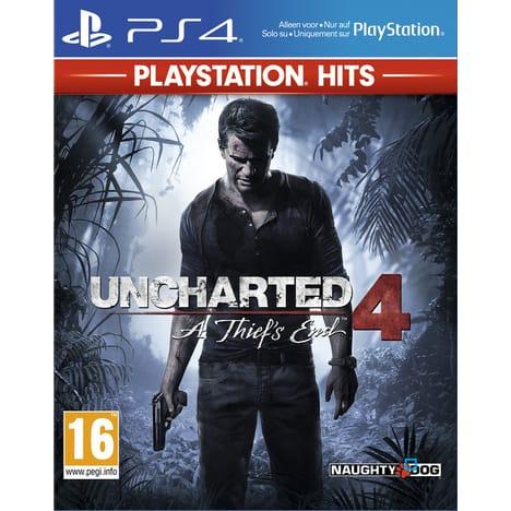 Sélection de jeux PS4 en promotion - Ex: Uncharted 4 : A thief's end