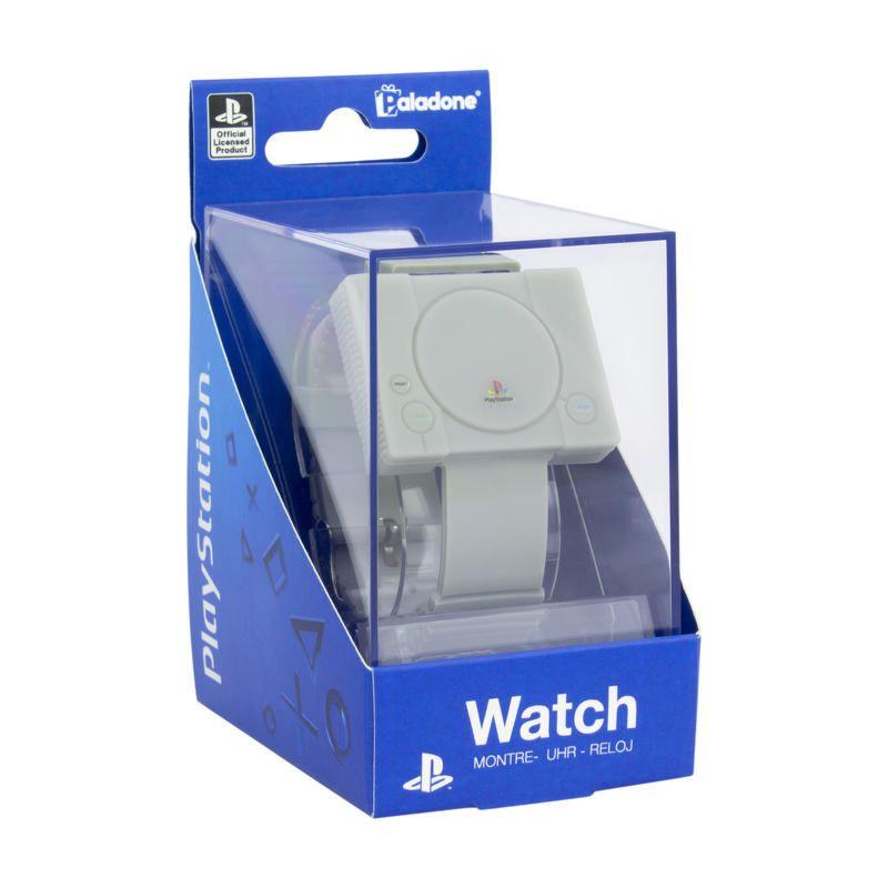 Montre numérique Paladone PlayStation Watch officielle - en forme de console PS1