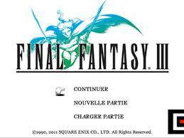 [iOs only] Promotion sur l'ensemble des jeux Final Fantasy