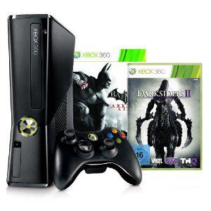 Console XBOX 360 250 Go + Batman Arkham City + Darksiders II