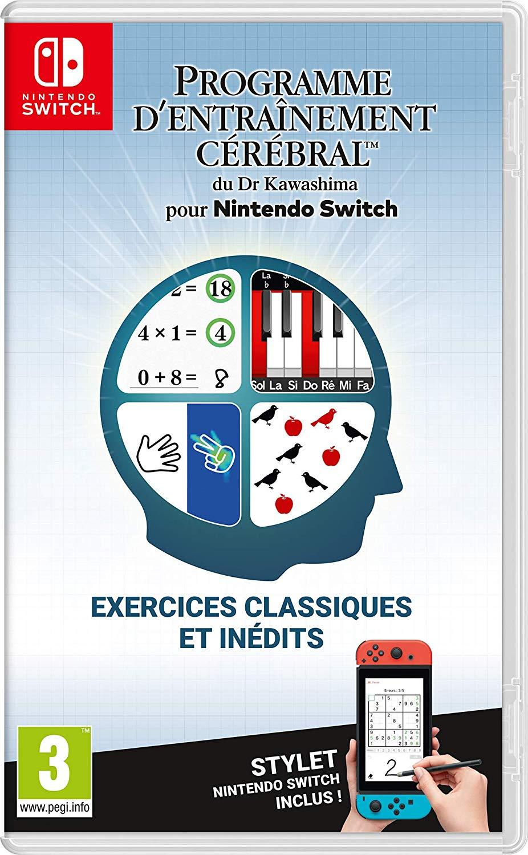 Précommande : Jeu Programme d'Entraînement cérébral du Dr Kawashima sur Nintendo Switch