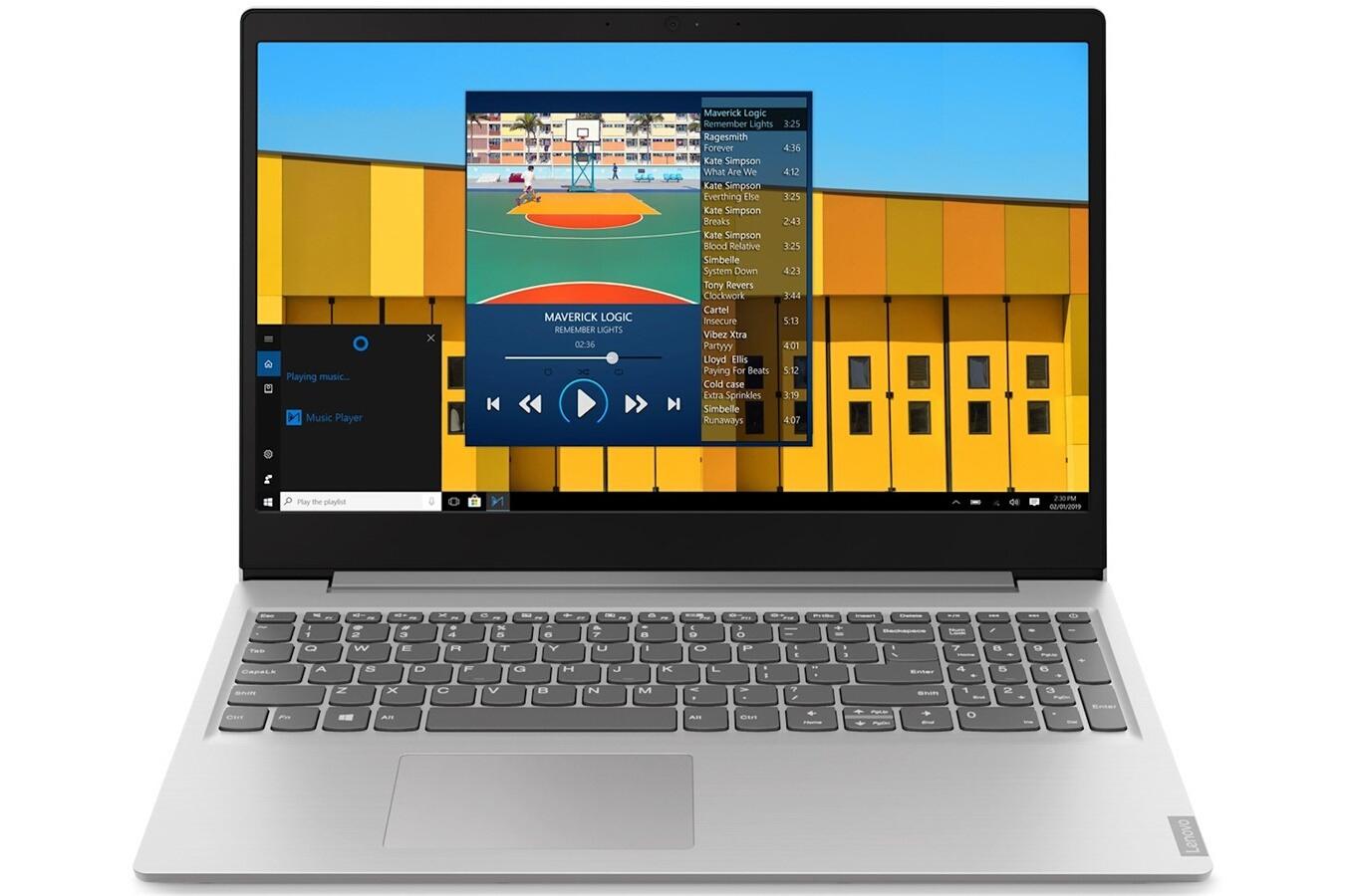 """PC portable 15.6"""" Lenovo Ideapad S145-15API-R58256 - Ryzen 5-3500U, 4 Go RAM, 1 To + 128 Go SSD (via ODR de 100€)"""