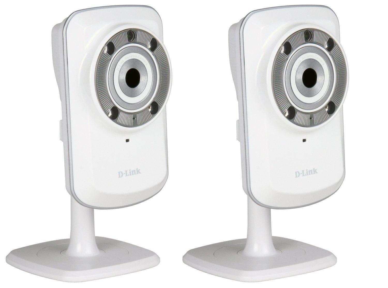 Pack de 2 Caméras IP WiFi D-Link DCS-932L jour/nuit