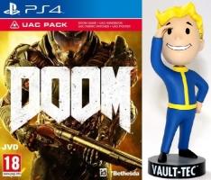 Doom Edition UAC sur PS4 + Figurine Fallout 76 Bobblehead