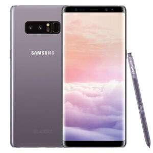 """Smartphone 6.3"""" Samsung Galaxy Note 8 - QHD+, Exynos 8895, 6 Go de RAM, 64 Go, argent ou noir (283.04€ via PFRNOEL15)"""