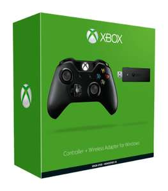 Manette Microsoft Xbox One + Adaptateur PC sans fil