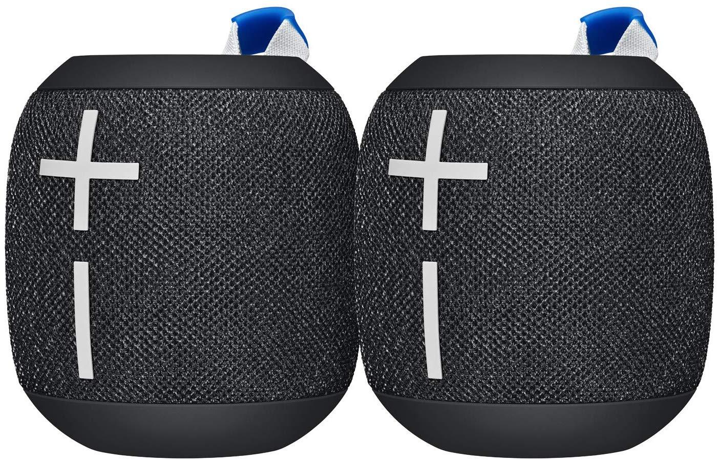 Pack de 2 Enceintes Bluetooth Ultimate Ears Wonderboom 2 - Deep Space Black