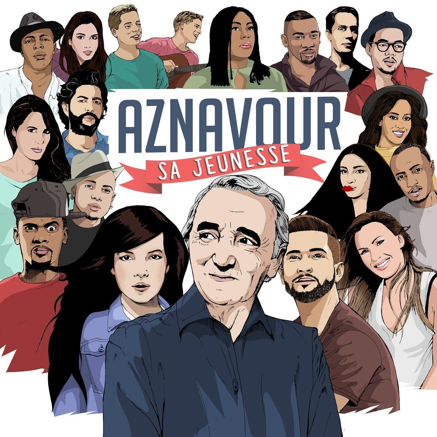 CD+MP3 Aznavour, Sa Jeunesse