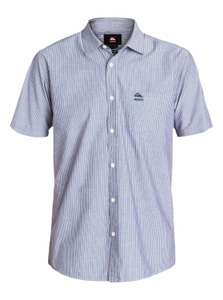 Chemise manches courtes pour homme Quiksilver Shadow Everyday Stripe