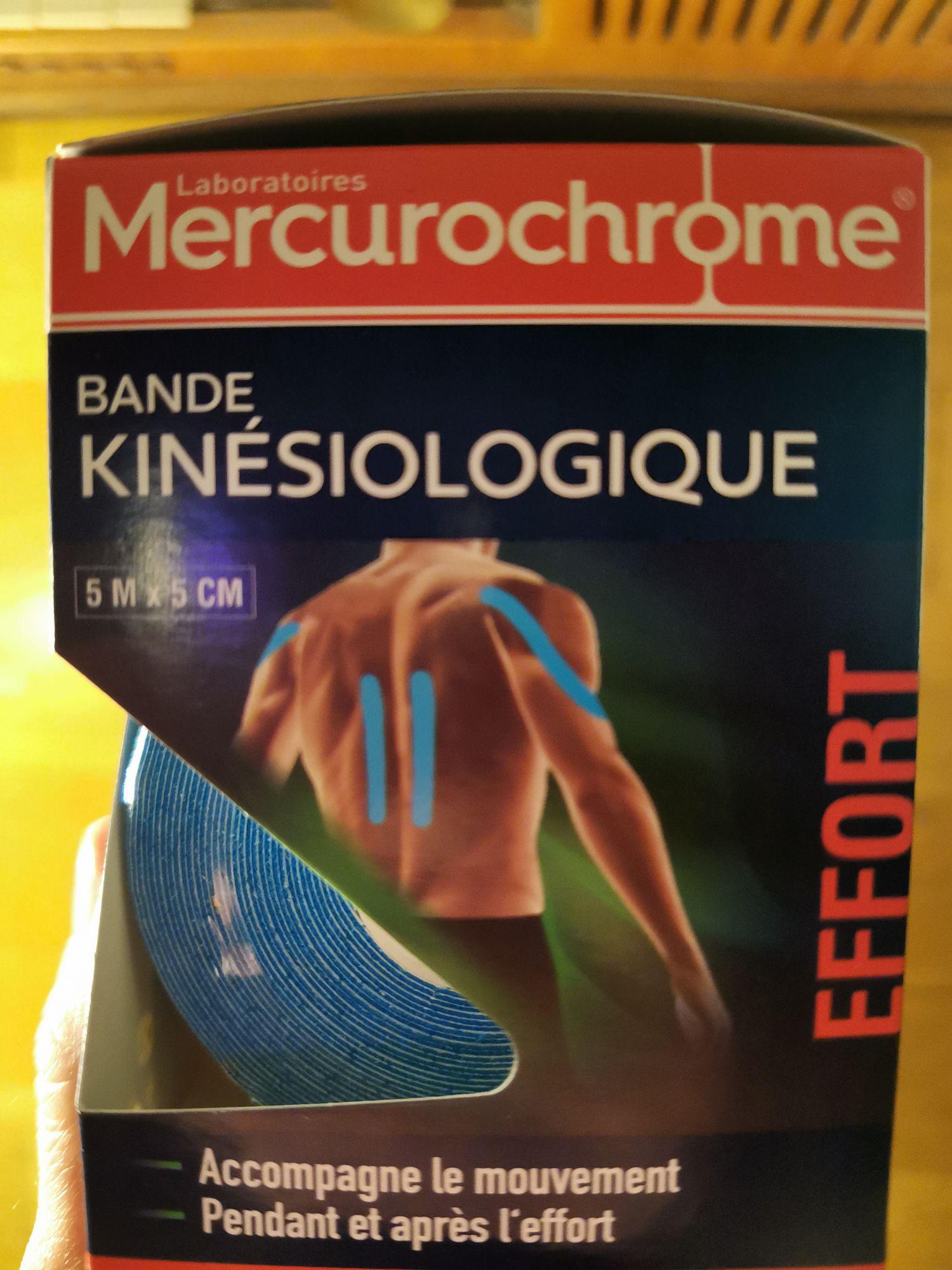 Bande Kinesiologique Mercurochrome - Venissieux (69)