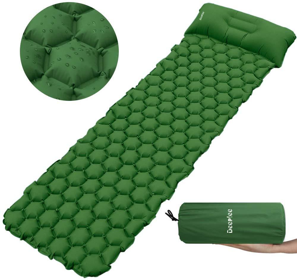 Matelas de Camping gonflable Deeplee - 190x58x6.5cm (vendeur tiers)
