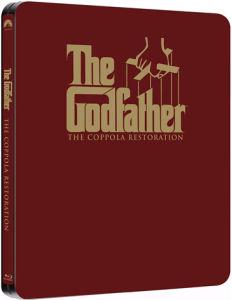 Trilogie Le Parrain Edition Limitée Steelbook Blu-ray