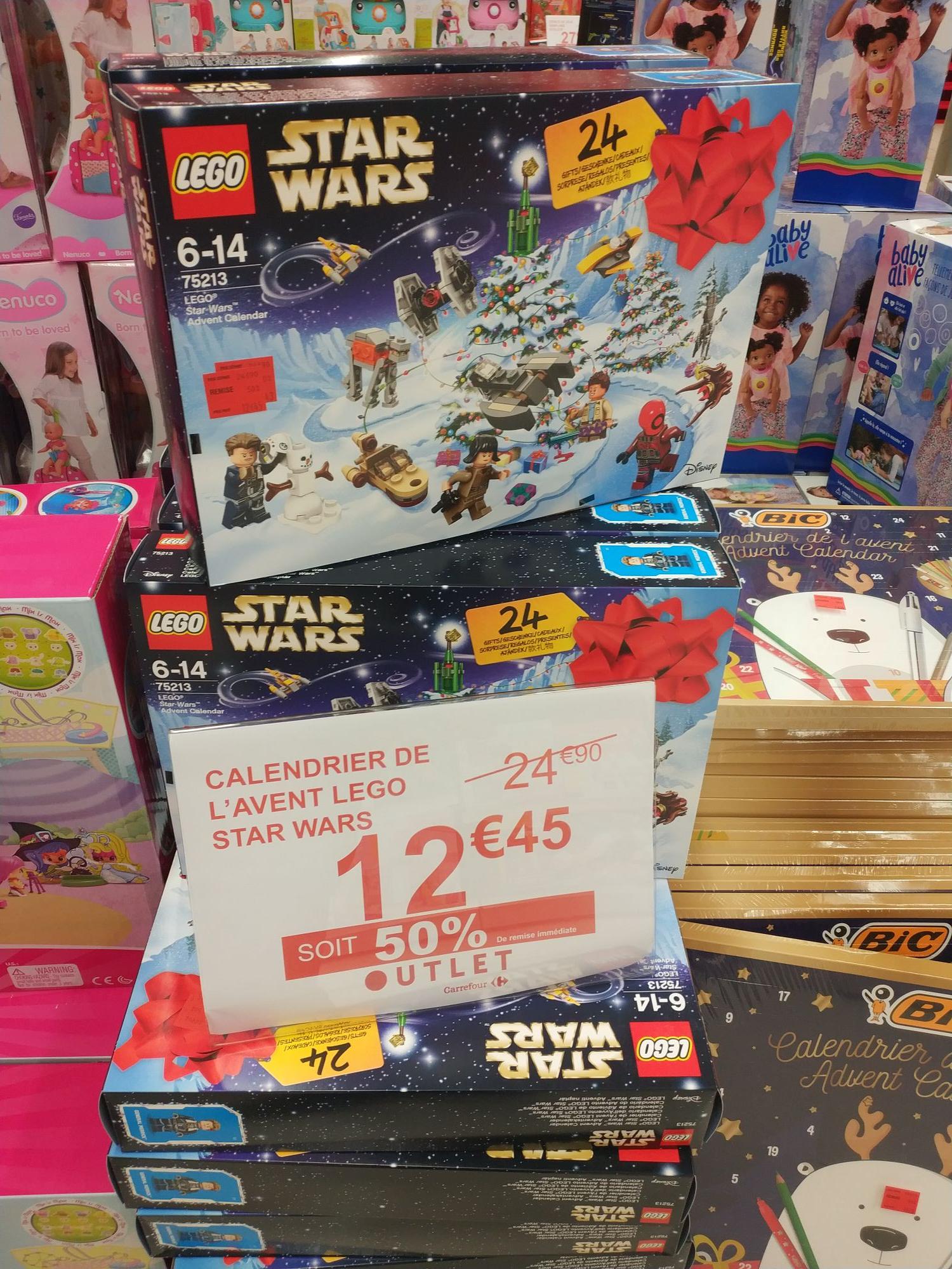 Calendrier de l'avent Lego Star Wars 75213 - Angers Saint-Serge (49)