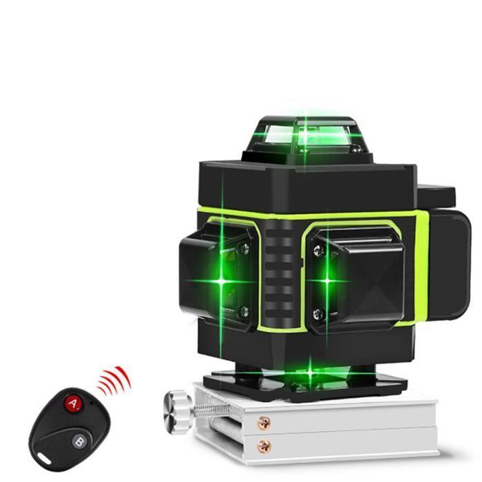 Niveau Laser TEMPSA - 16 Lignes, Vert, Automatique, 360 degrés (Vendeur Tiers)