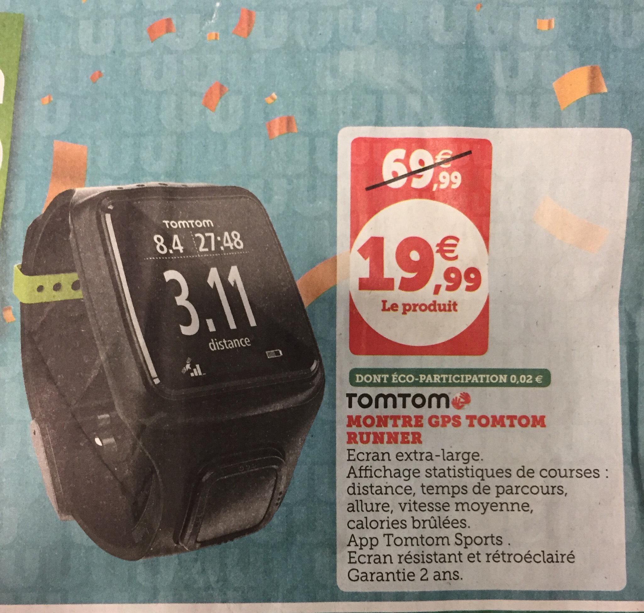 Montre GPS multisport TomTom Runner