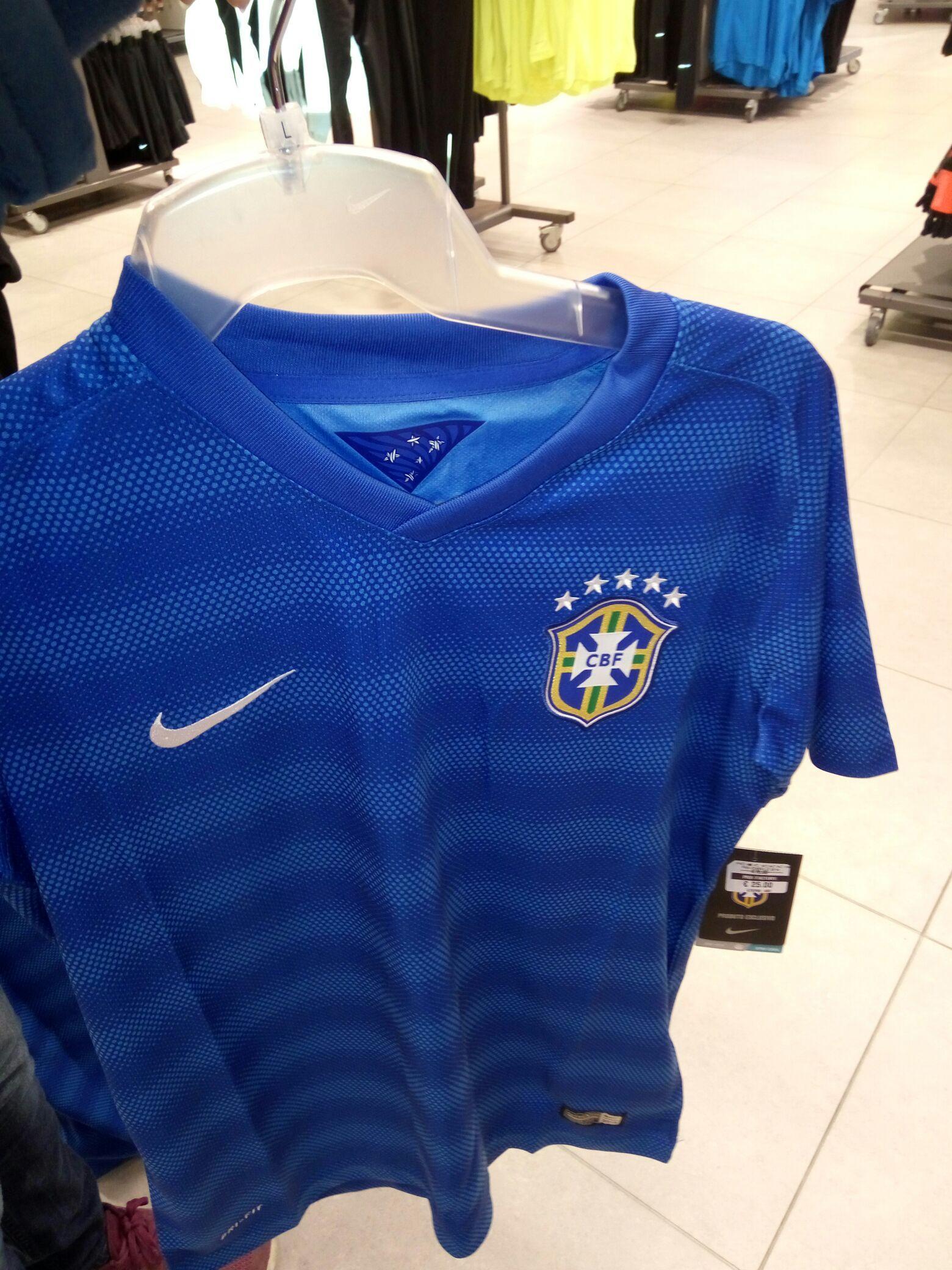 Maillot de foot Brésil Extérieur 2014/2015 (taille enfant)