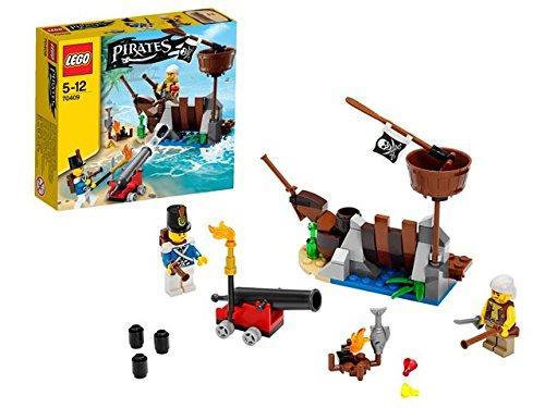 Jeu De Construction Lego Pirates 70409 - La Défense Du Radeau