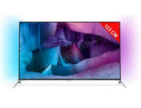 """Téléviseur 49"""" Philips 49PUS7100 Ambilight 2 - 4K (via ODR 100€)"""