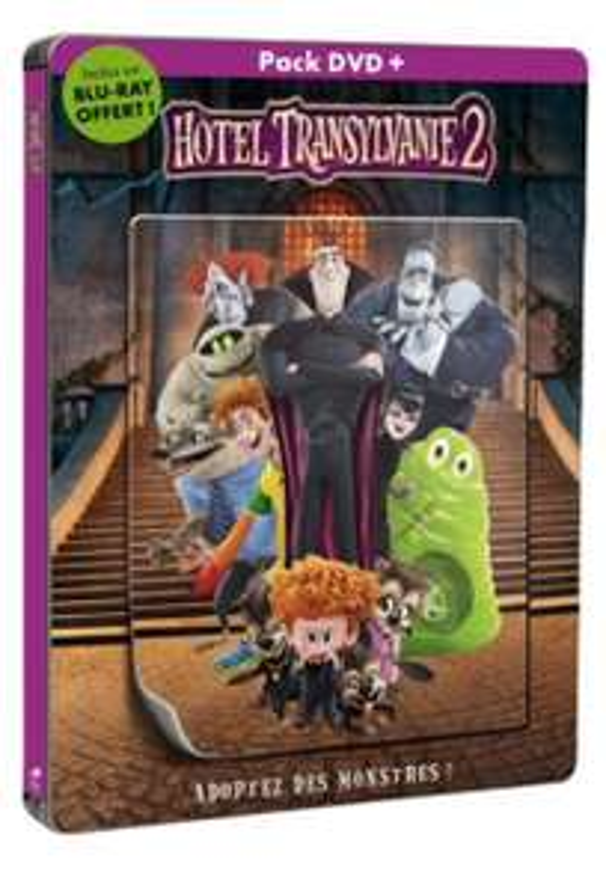 Blu-ray+DVD : Hôtel Transylvanie 2 - Steelbook