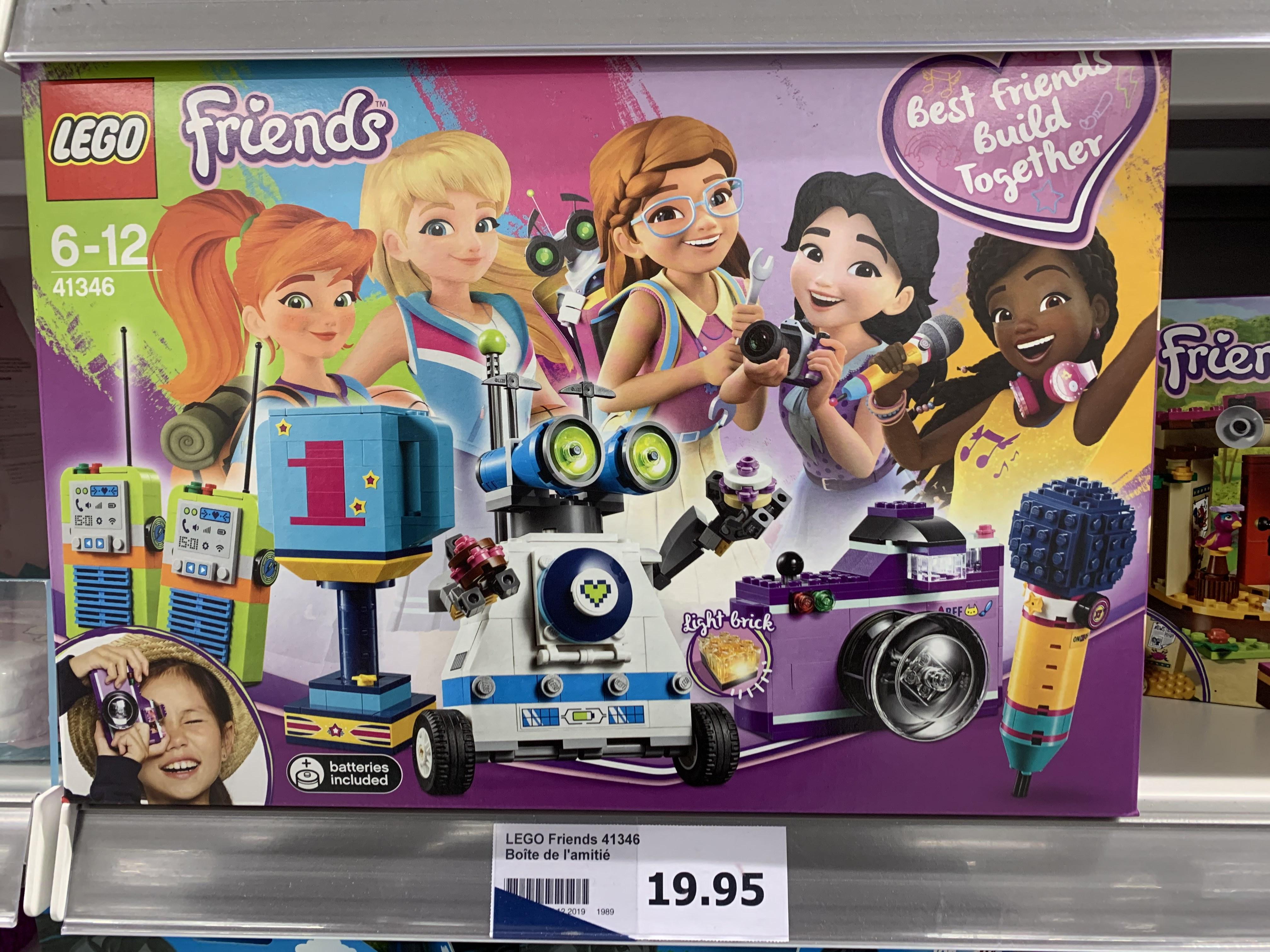 Jouet Lego Friends 41346 - La boîte de l'amitié (Brignoles - 83)