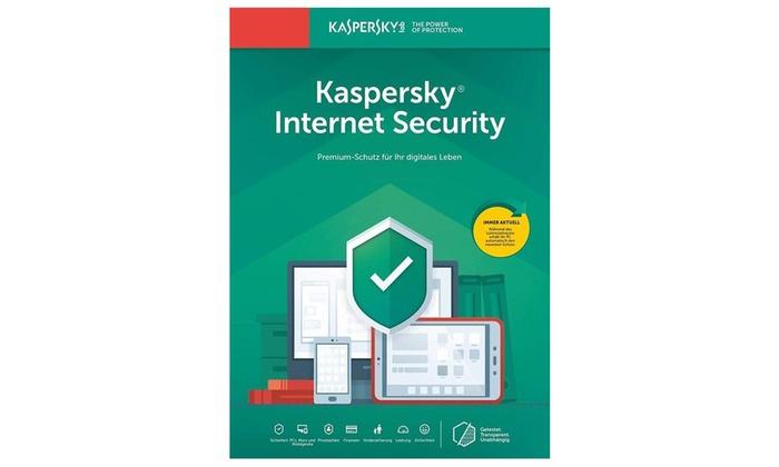 Licence Kaspersky Internet Security 2020 - 1 poste, 1 an (Dématérialisé)