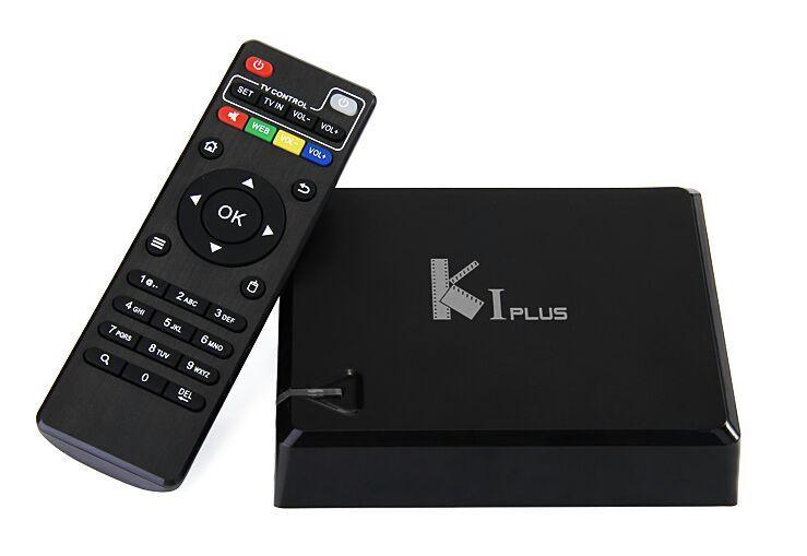 Box TV Android K1 Plus Amlogic S905