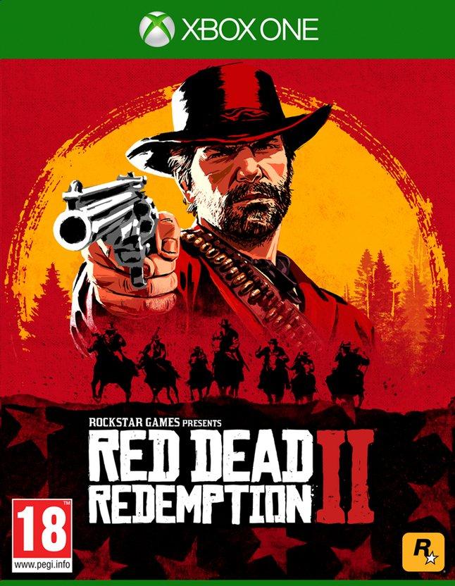 Red Dead Redemption 2 sur Xbox One (Frontaliers Belgique)