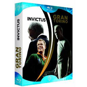 Coffret 2 Blu-rays Gran Torino + Invictus