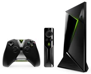Box Android TV Nvidia Shield 16 Go + Manette + Télécommande