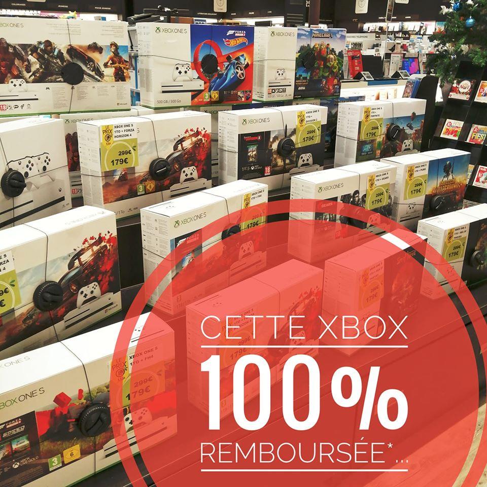 Sélection de packs de console Xbox One S 100% remboursés sous forme de 2 bons d'achat - Mios (33)
