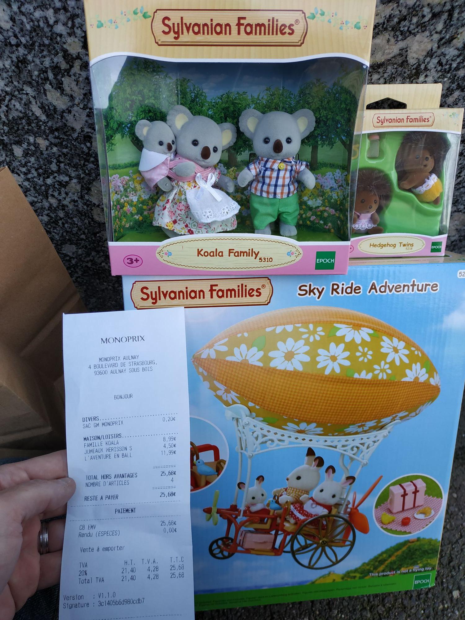 50% de réduction sur une sélection de jouets Sylvanian Families - Aulnay-sous-Bois (93)