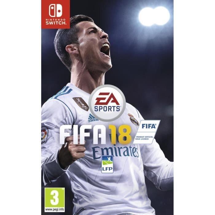 FIFA 18 sur Nintendo Switch (+0,71€ en SuperPoints)