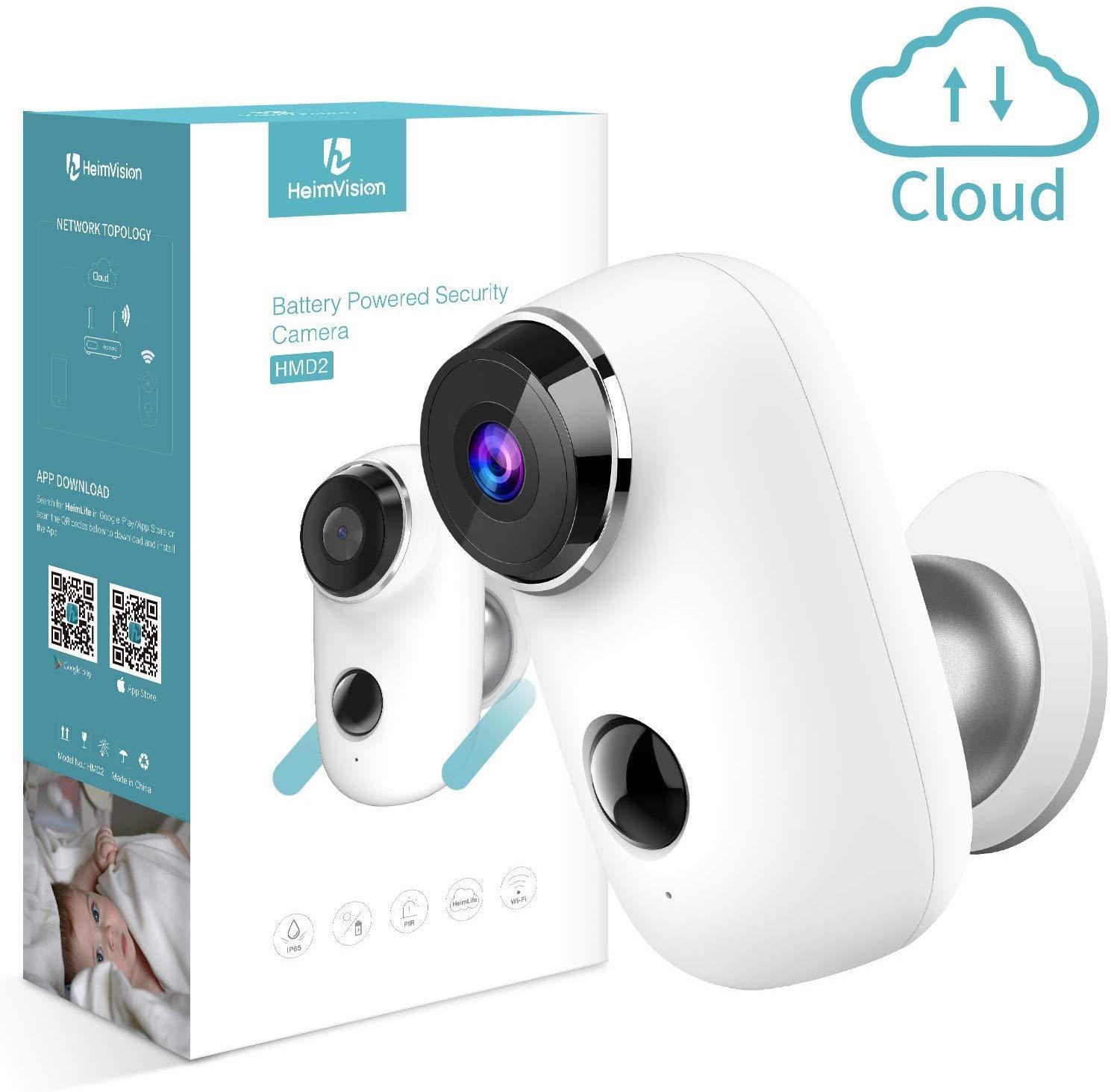 Caméra de Surveillance avec batterie Rechargeable (Via Coupon - Vendeur tiers)