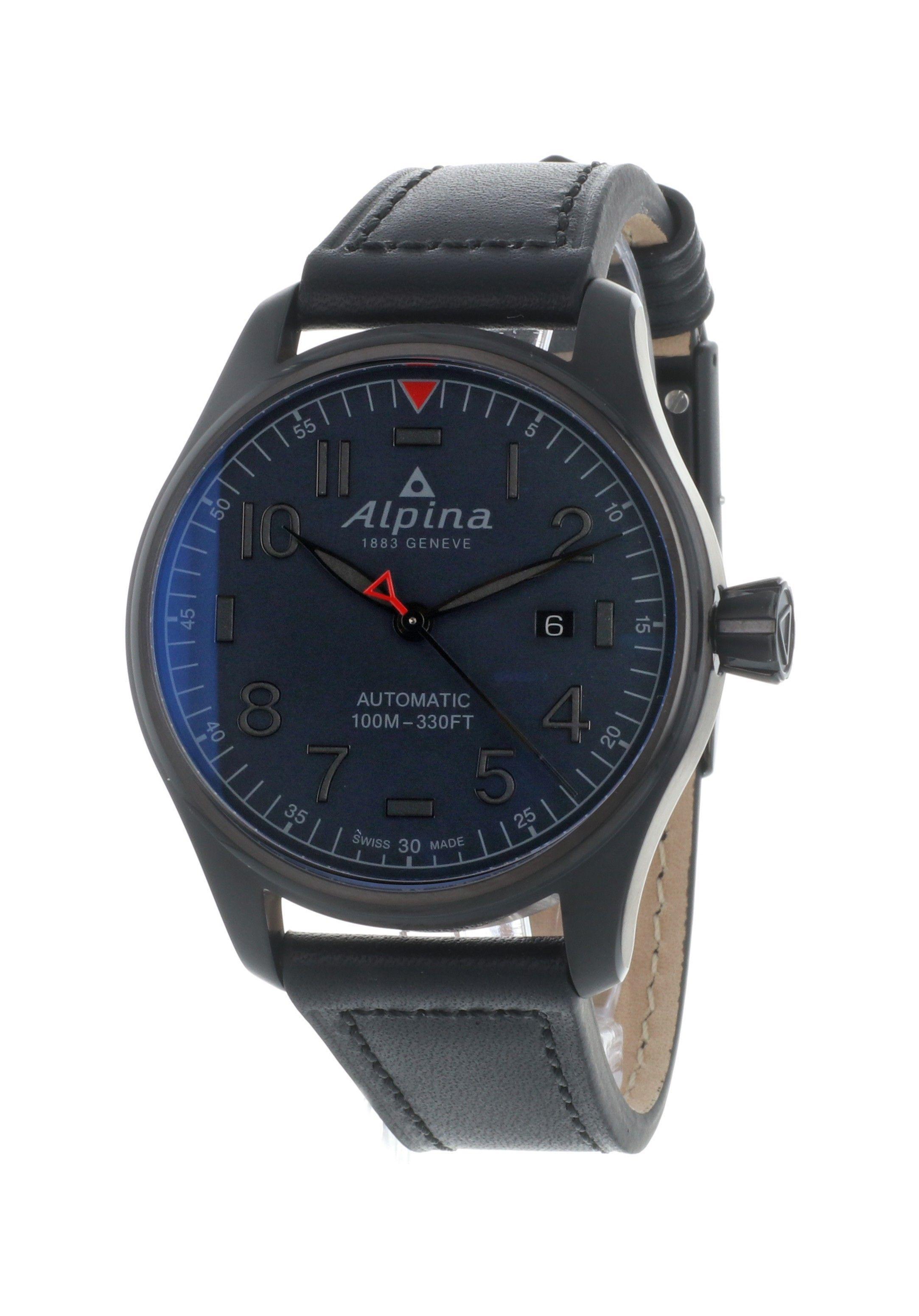 Montre automatique Alpina Startimer Pilot (Frais d'importation inclus, Jomashop.com)