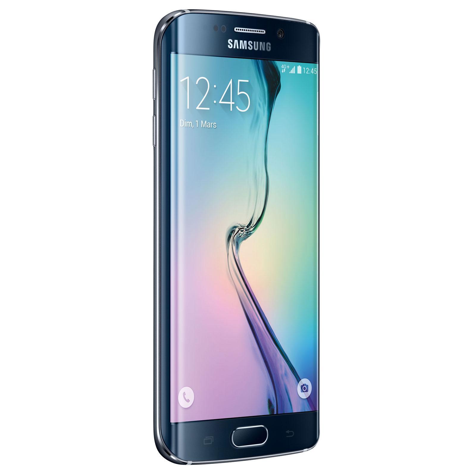 "Smartphone 5.2"" Samsung Galaxy S6 Edge 64Go"