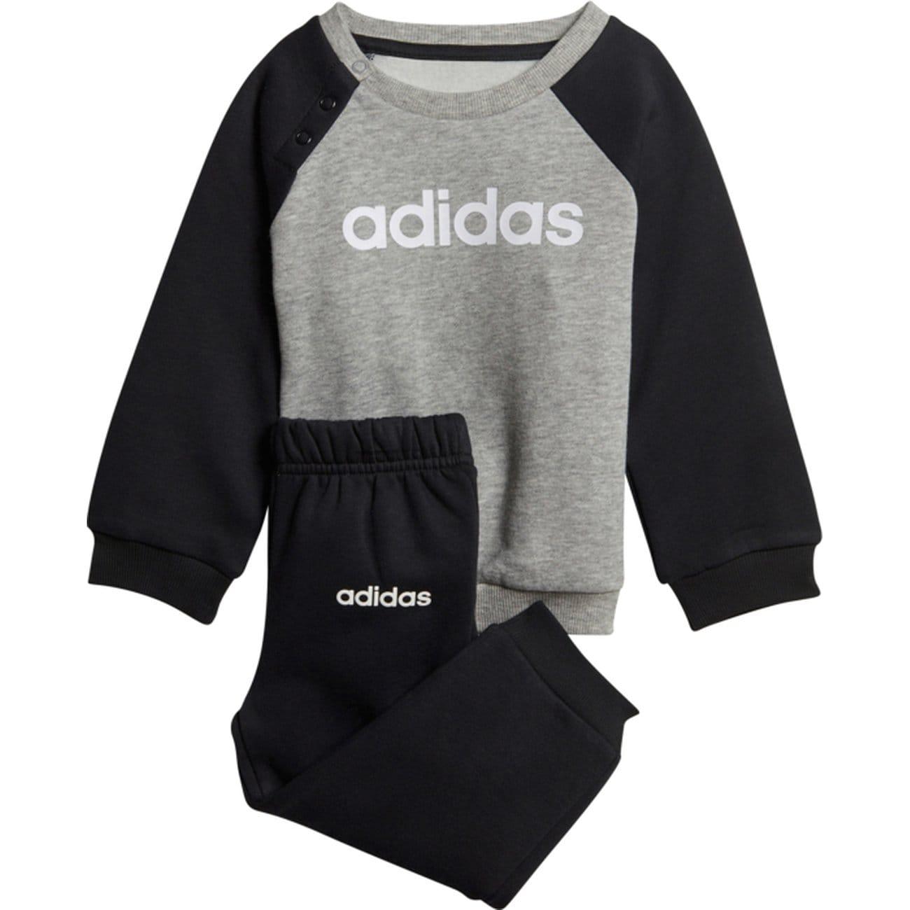 Survêtement Multisport Bébé Adidas I Lin Jogg FL - Gris, 3 mois à 4 ans