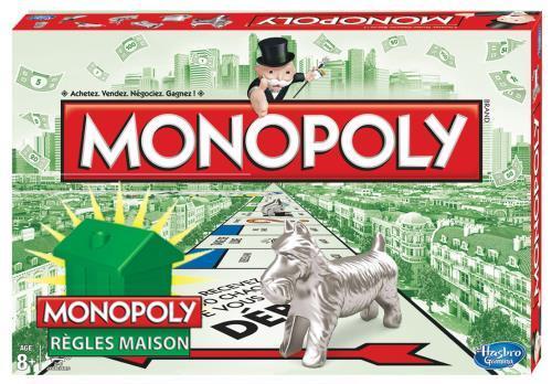 Jeu de société Monopoly Règles Maison