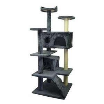 Arbre à chat Poils & Plumes - Le grimpeur (50 x 50 x 125 cm)