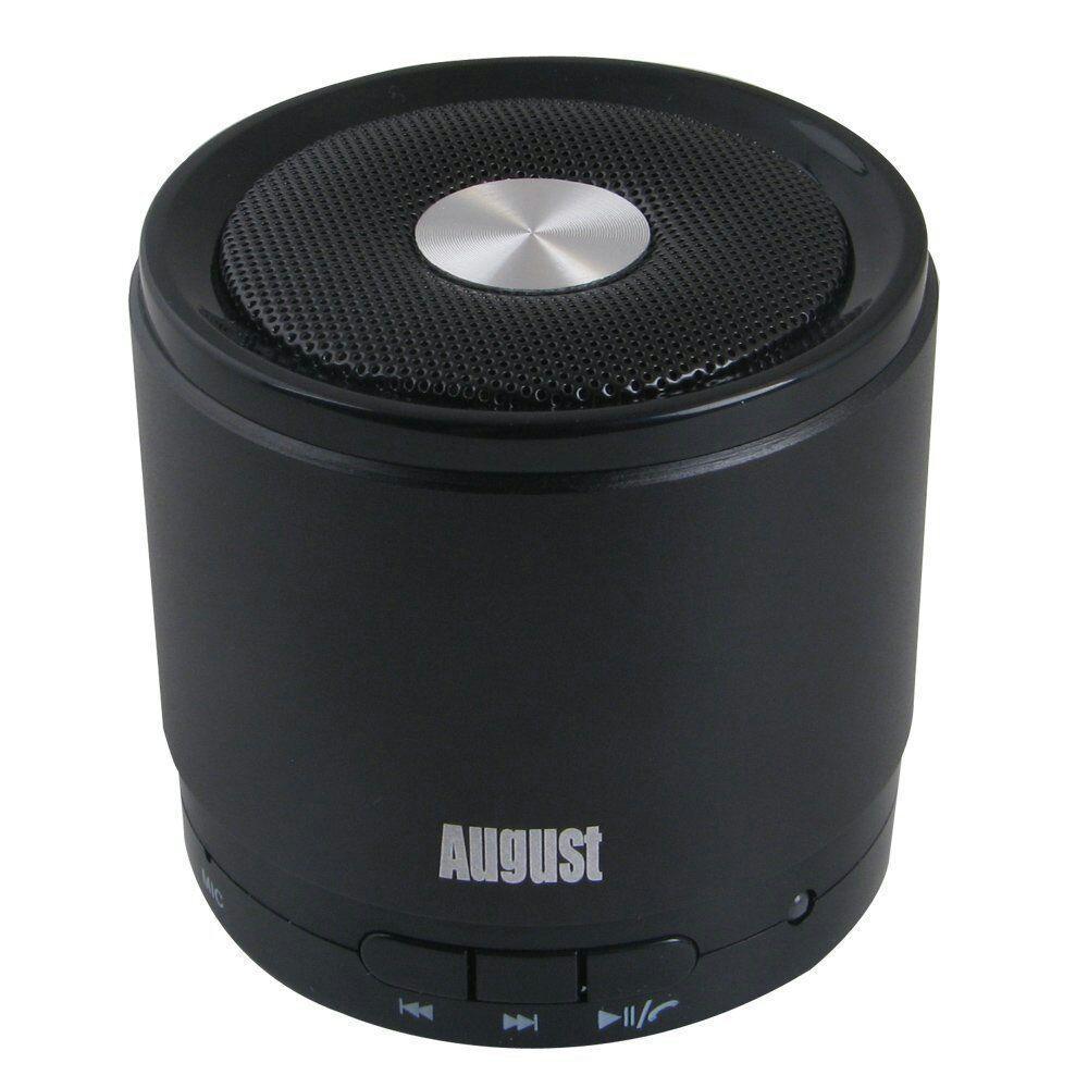Enceinte Bluetooth 4.0 August MS425 avec microphone (couleur au choix)