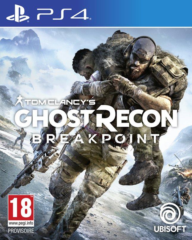 Tom Clancy's Ghost Recon Breakpoint sur PS4 (Frontaliers Belgique)