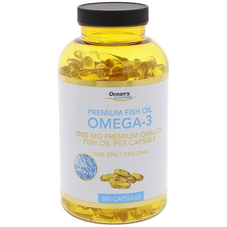 Capsules d'huile de poisson Ocean's Essentials