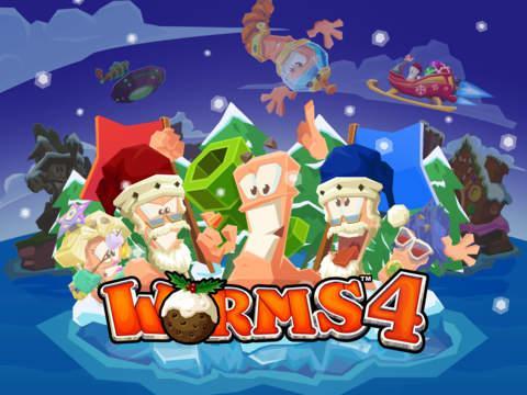 Jeu Worms 4 sur iOS