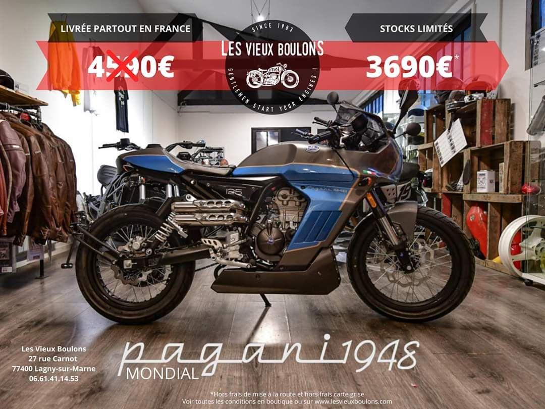 Moto Fb Mondial Pagani 125 ABS (lesvieuxboulons.com)