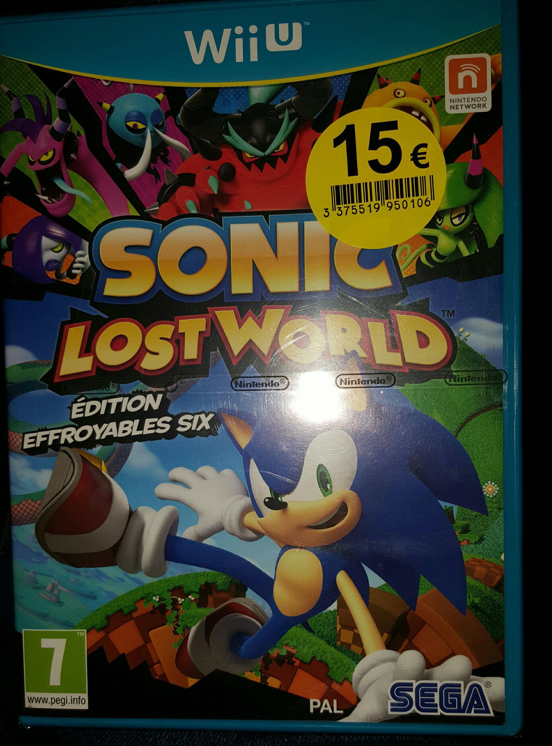 Sonic Lost Word sur Wii U
