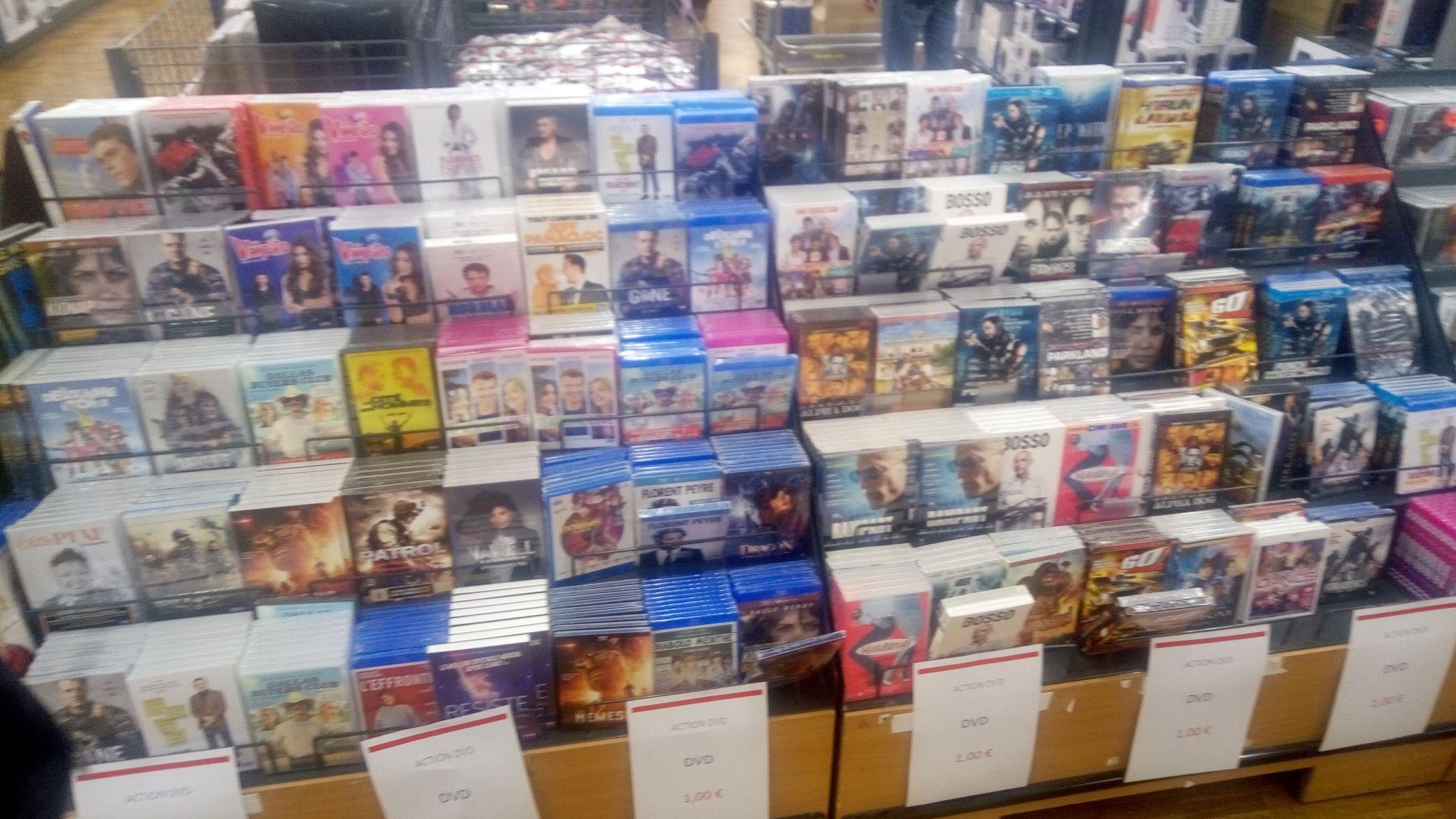 Sélection de Blu-ray et DVDs à 1€ - Foetz (frontaliers Luxembourg)