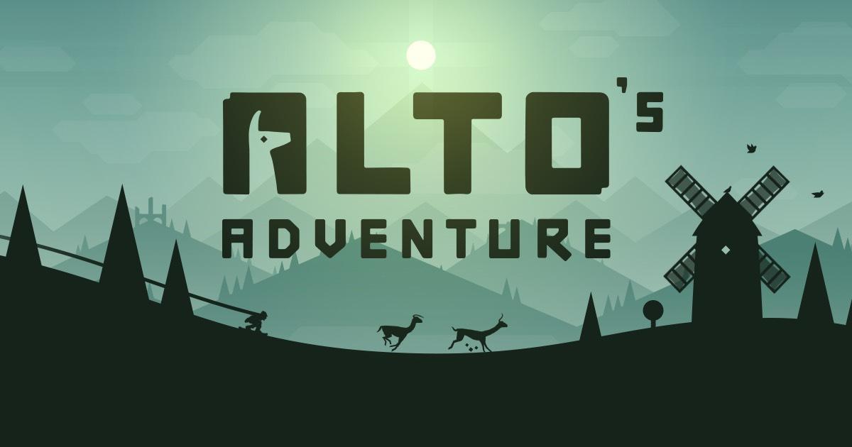 Application Alto's Adventure sur iOS