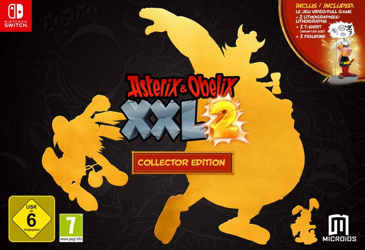 Asterix et Obelix XXL 2 Collector sur Nintendo Switch
