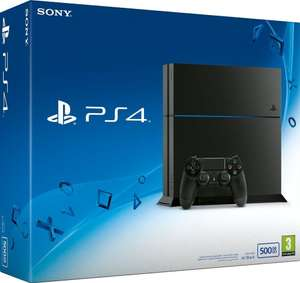 Console Sony PS4 500 Go Noire (Version CUH-1216A)