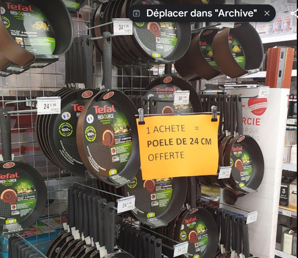 Une poêle Tefal Ressource Ø30 cm achetée = une poêle Ø24 cm offerte - Babou Carcassonne (11)